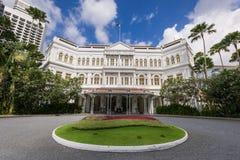 Majestatyczni Raffles Hotelowi fotografia stock