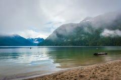 Majestatyczny chilliwack jezioro Zdjęcie Stock