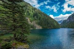 Majestatyczny chilliwack jezioro Zdjęcia Stock