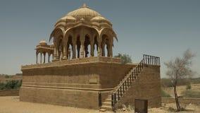 Majestatyczny królewski cenotaph w jaisalmer zdjęcie wideo