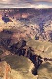 Majestatyczny Krajobrazowy Południowy obręcza Uroczystego jaru park narodowy Arizona fotografia stock