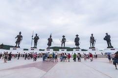 Majestatyczny Rajabhakti park w Hua Hin Zdjęcia Stock