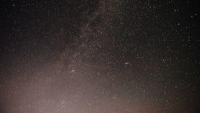 Majestatyczny ujawnienie czasu upływu strzał Milky sposobu i gwiazd galaktyka zbiory