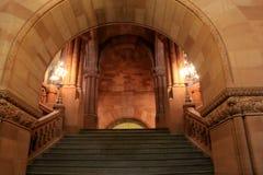 Majestatyczny widok Uroczysty schody, Albany stanu Capitol, Albany, Nowy Jork, 2015 Fotografia Royalty Free