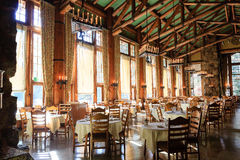 Majestatyczny Yosemite hotel obrazy royalty free