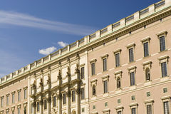 Majestic. Shot of beautiful building in Stockholm Stock Image