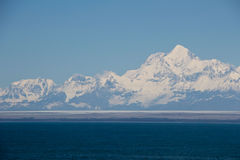 Majestic Alaskan Mountains Stock Images