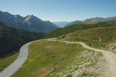 Majestic alpine landscape Stock Image
