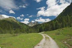 Majestic alpine landscape Royalty Free Stock Photo