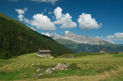 Majestic alpine landscape Stock Images