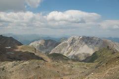 Majestic alpine landscape Stock Photography