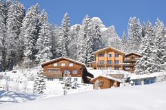 Majestic Alpine view Stock Image
