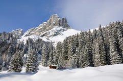 Majestic Alpine view Stock Photography