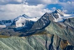 Majestic altai  mountains Royalty Free Stock Images