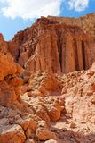 Majestic Amram pillars rocks in the desert Royalty Free Stock Photos