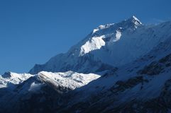 Majestic Annapurna 2 Royalty Free Stock Photos