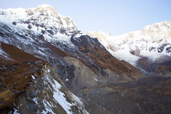 Annapurna range of the himalayas Stock Photography