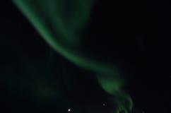 Majestic aurora borealis on dark star filled night sky Royalty Free Stock Photography