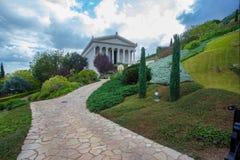 Free Majestic Bahai Gardens At Haifa Israel. Gardening And Free Entrance Stock Photography - 167421722