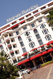 Majestic Barriere Luxury Hotel - CANNES Stock Photos