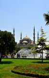 The majestic Blue Mosque in Istanbul Stock Image