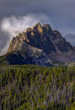 Majestic Braxon Peak in Idaho. Royalty Free Stock Photo
