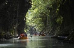 Martvili canyon, Georgia Royalty Free Stock Images