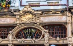 Majestic Cafe Royalty Free Stock Image