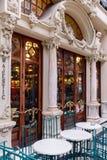 Majestic Cafe Stock Photo