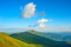 Majestic Carpathians mountains Royalty Free Stock Photo