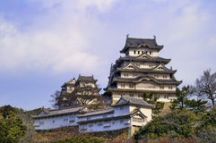 Majestic Castle of Himeji in Japan. Stock Photography
