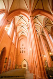 Majestic cathedral interior Stock Images
