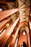 Majestic cathedral interior Royalty Free Stock Image