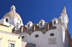 Majestic church on Capri island, Italy Stock Photo