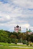 Majestic church towers, Feofaniya Stock Photography