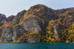 Majestic cliffs Stock Image