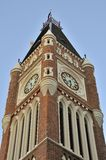 Majestic clock tower Stock Photography