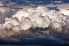 Majestic clouds Royalty Free Stock Images