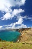 Majestic coastline of Saint Kitts. The fabulous coastline on the Caribbean island of Saint Kitts Stock Photography