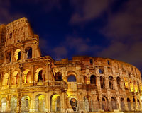 The Majestic Coliseum Amphitheater. Rome, Italy Stock Photos