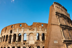 The Majestic Coliseum, Rome, Italy. Royalty Free Stock Photo