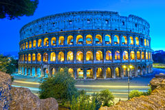 The Majestic Coliseum, Rome, Italy. Royalty Free Stock Photos