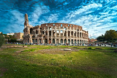 The Majestic Coliseum, Rome, Italy. Royalty Free Stock Photography