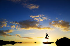 Majestic dawn Stock Image
