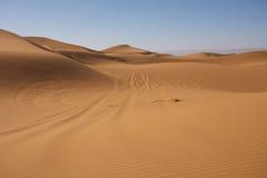Majestic dune landscape Stock Photo