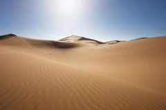 Majestic dune landscape Stock Photography