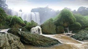 Majestic Elephant waterfall, Vietnam stock footage