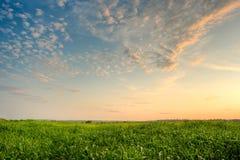 Majestic evening skies Stock Photos