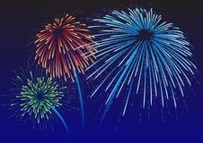 Free Majestic Firework Stock Photography - 7409302