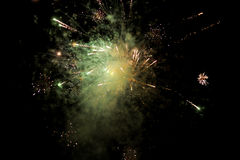 Majestic Fireworks Royalty Free Stock Image